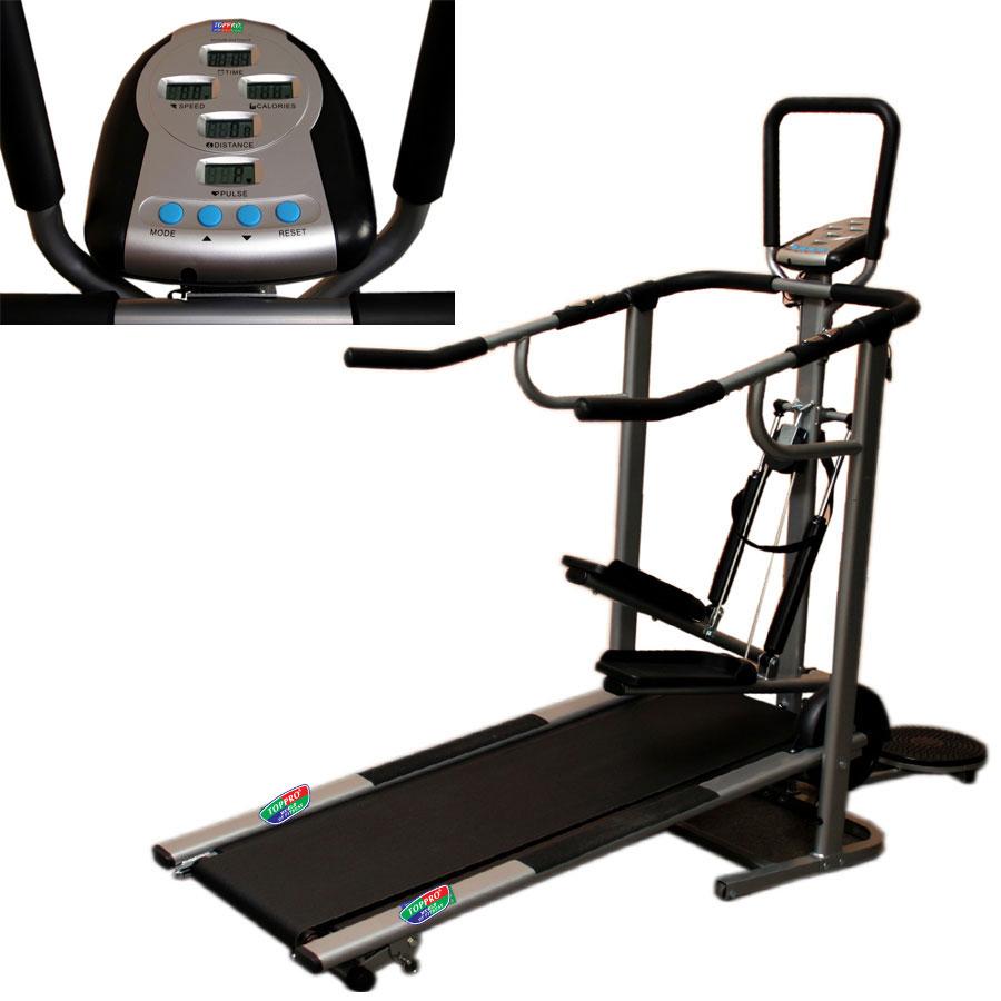 Cybex Treadmill Speed Calibration: Buy Toppro 4 IN 1 MANUAL TREADMILL JOGGER 1 YEAR WARRANTY