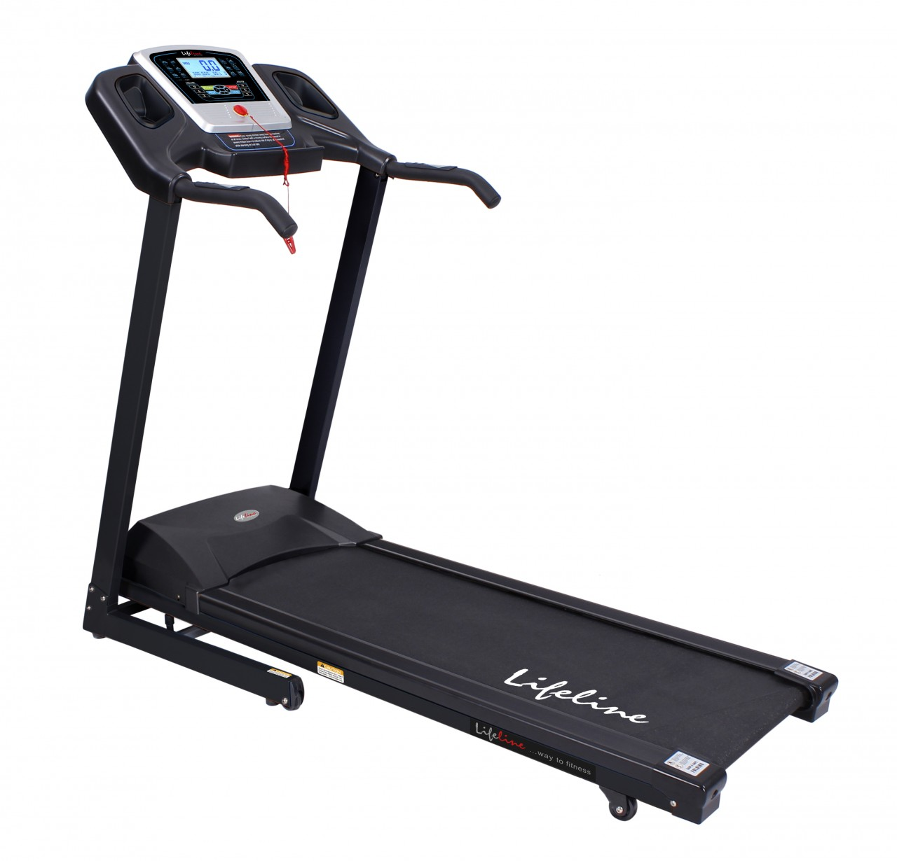 Shop lifeline motorized treadmill venice 4 2b 2 5 hp cont for Treadmill 2 5 hp motor