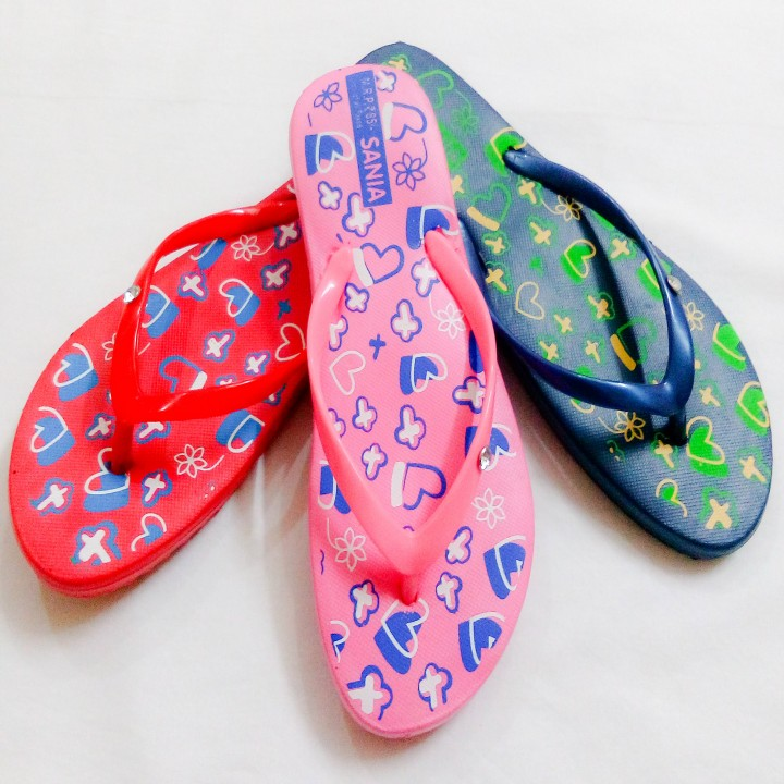 printed girls slipper