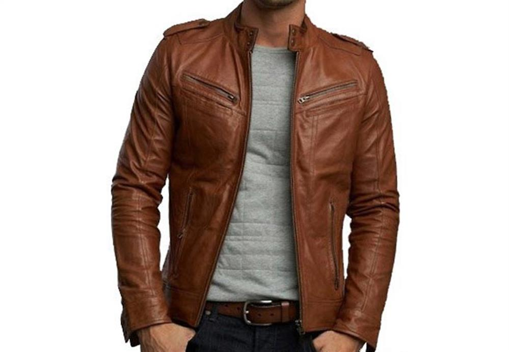 Leather jacket bomber – Modern fashion jacket photo blog