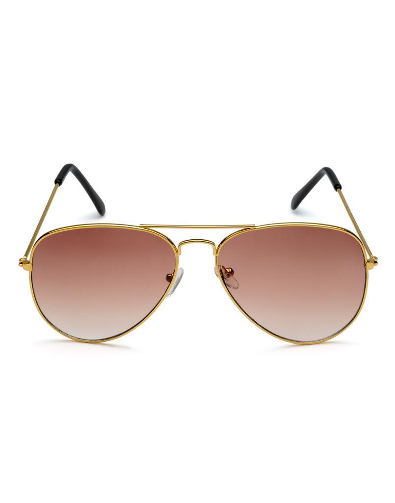 Rico Sordi Beige Aviator UV Protection Sunglass For Men (RSSG049)
