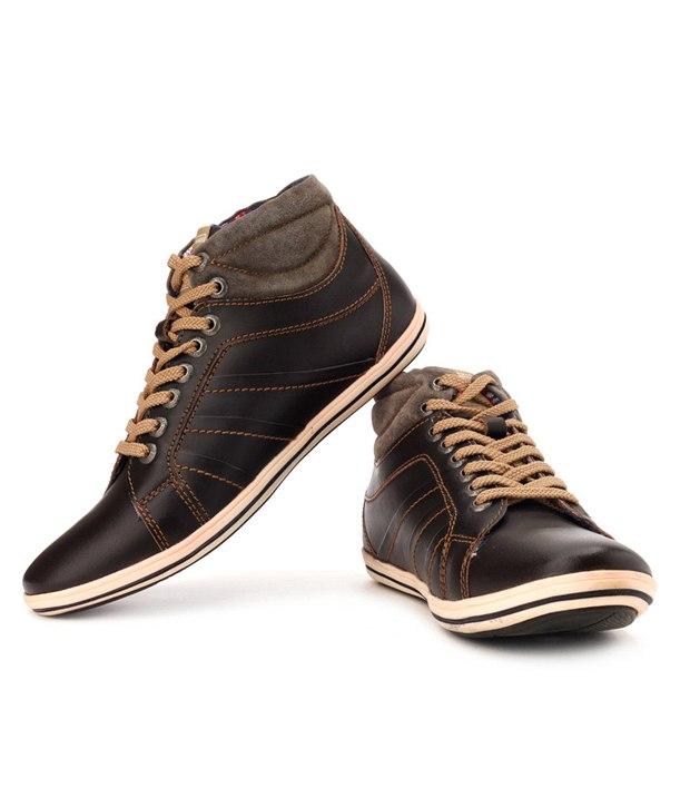Buy Lee Cooper Men's Brown Outdoor Shoes (Option 3) Online- Shopclues ...