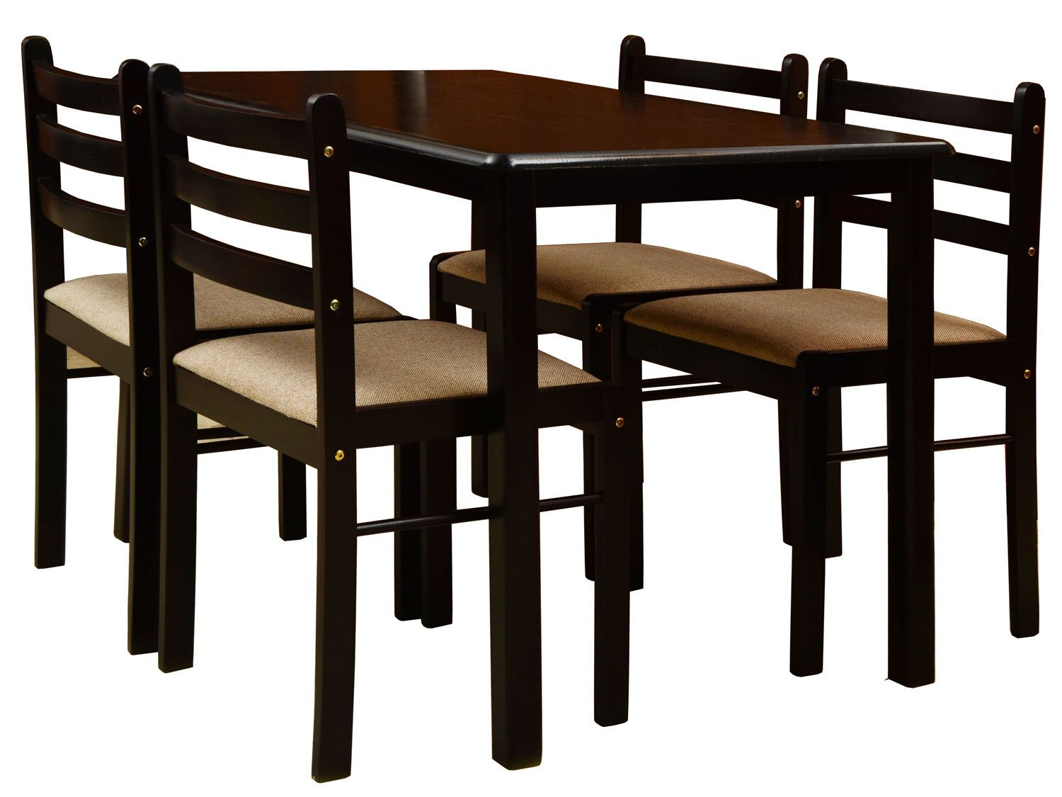 Dinner Table Set For 4 Of Nitraa Augusta Four Seater Dining Table Contemporary