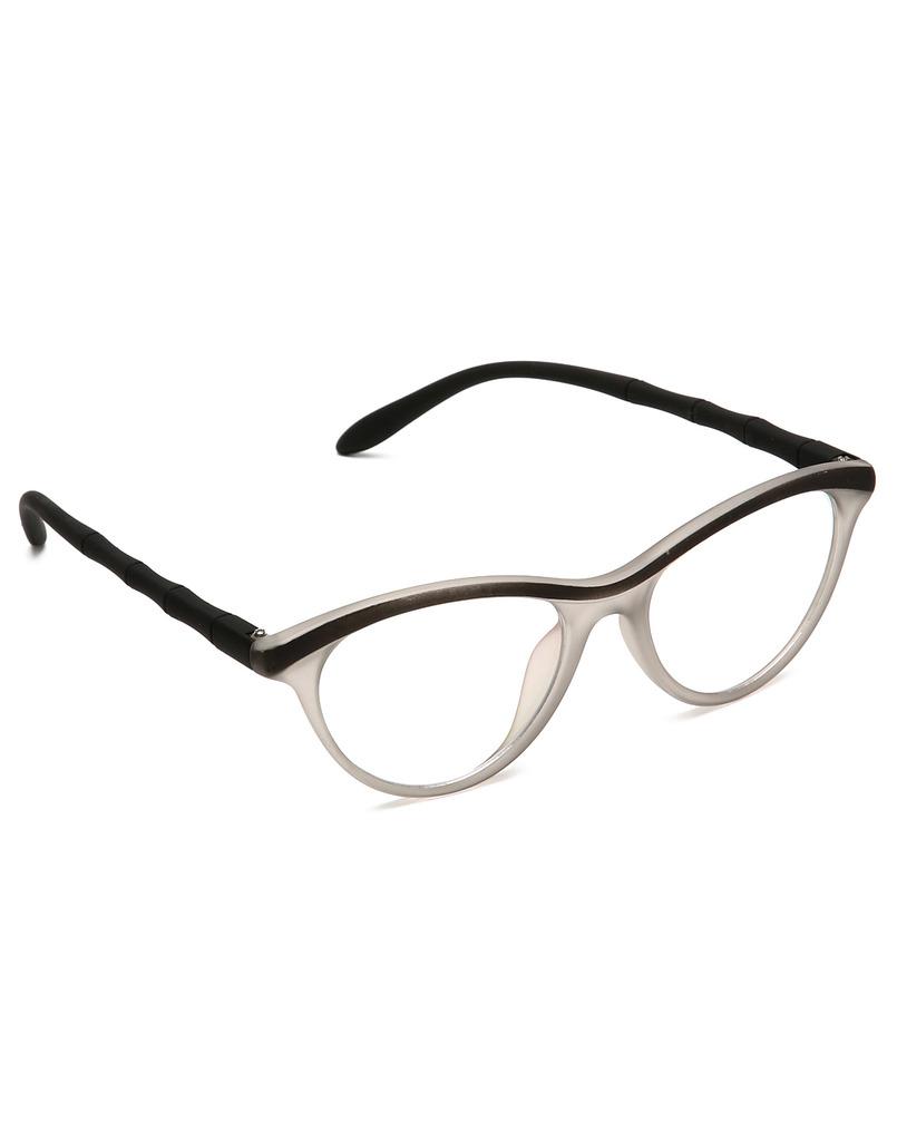 Estycal Cat Eye Non Metal Eyeglasses For Women (KNG2BLACK)