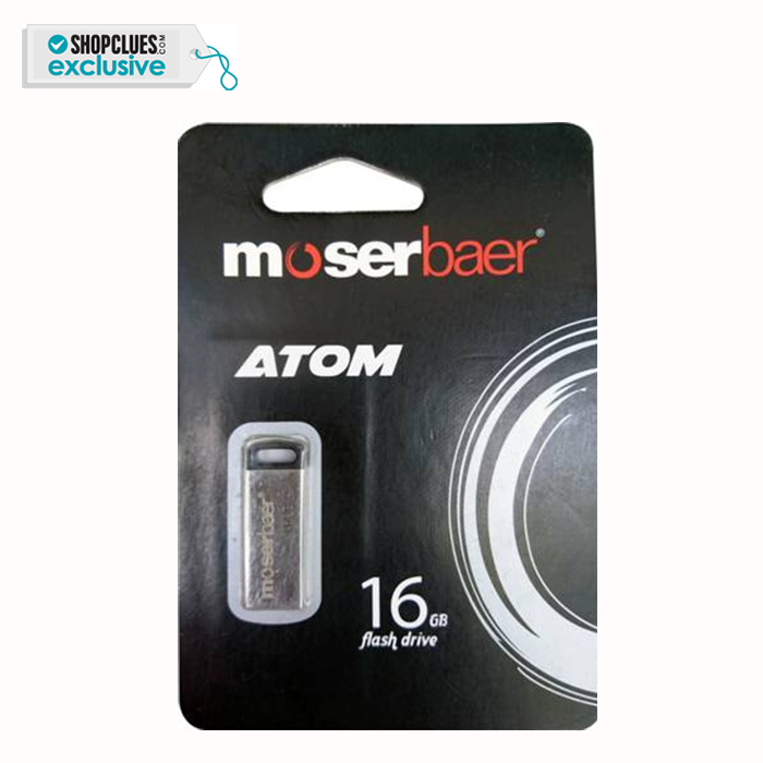 Moserbaer ATOM 16GB Pendrive