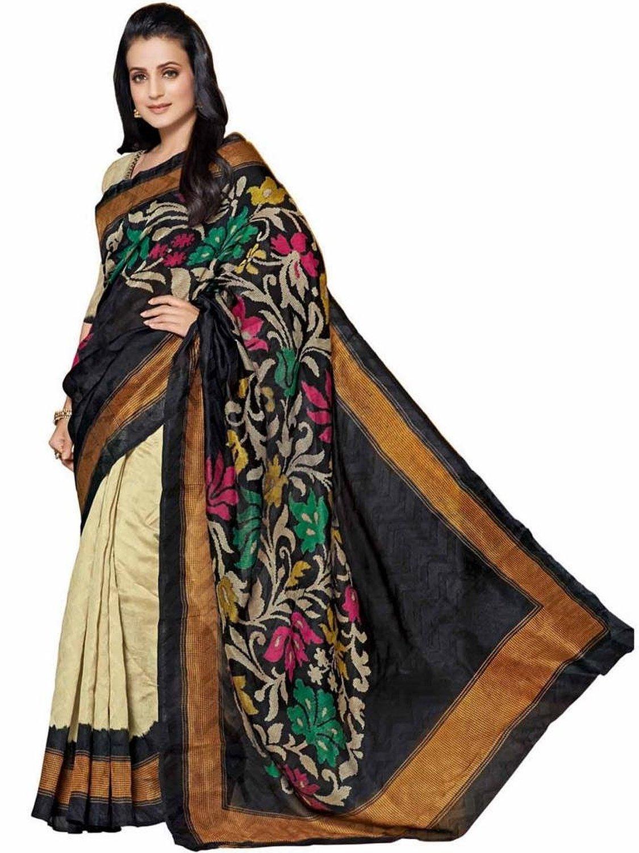 Buy Paripari New Bhagalpuri Saree 1764 Online In India