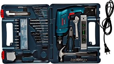 online bosch gsb 500 re power tool kit blue prices. Black Bedroom Furniture Sets. Home Design Ideas