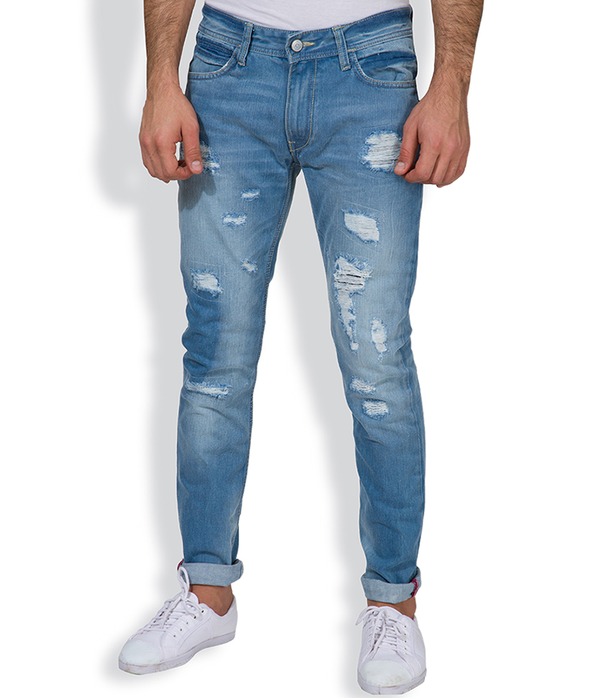 Locomotive Navy Blue Jeans