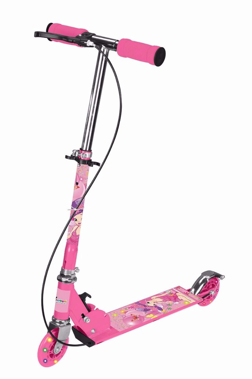 3 Wheels Kids Scooter Foldable Assorted colors available at ShopClues for Rs.579