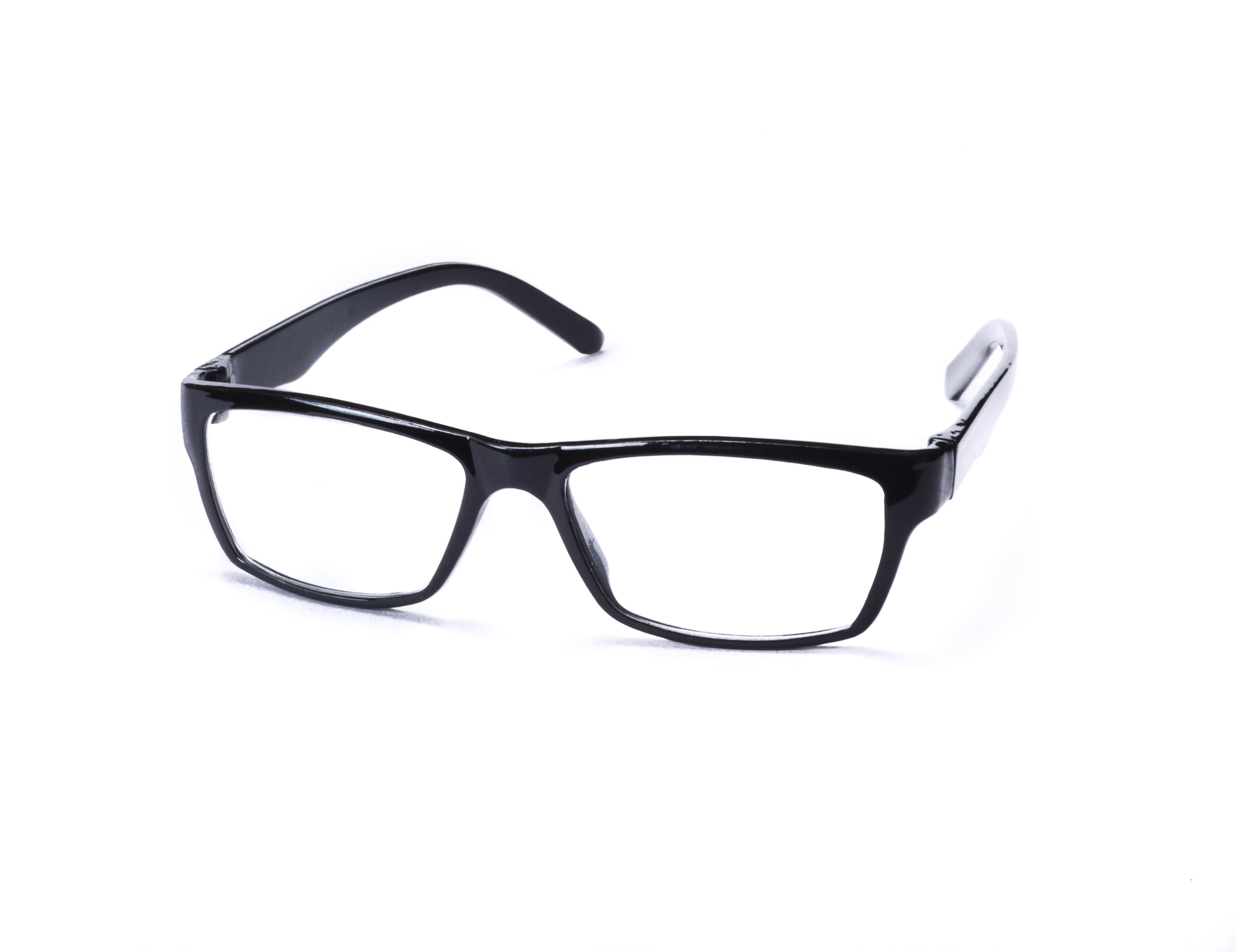 Super Traders St Black Frame And Black Temple  Combination Spectacle Frames  For Men And Women-Stfrm071