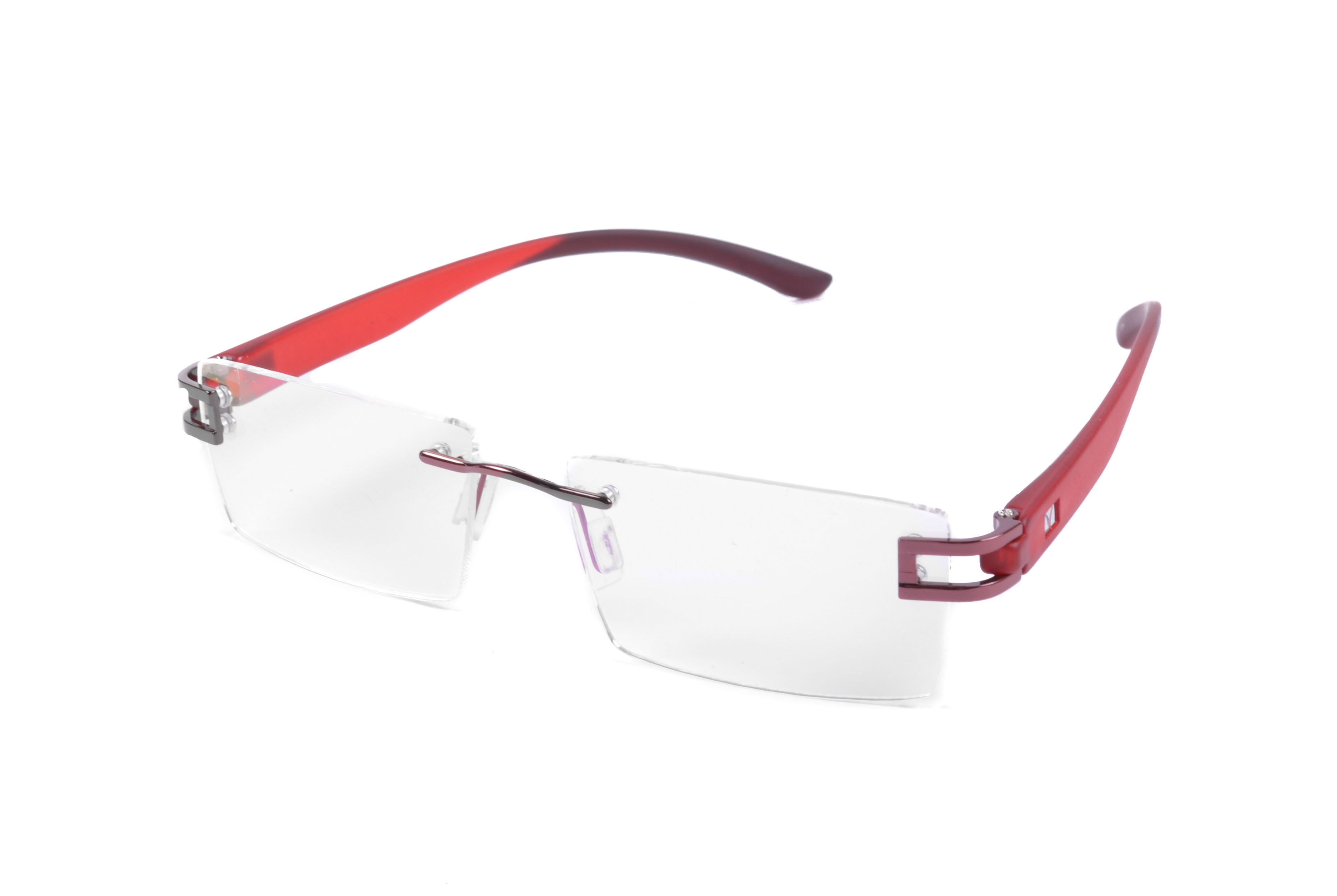 St Red And Grey Rimless Frame  For Mens And Womens-Stfrm035