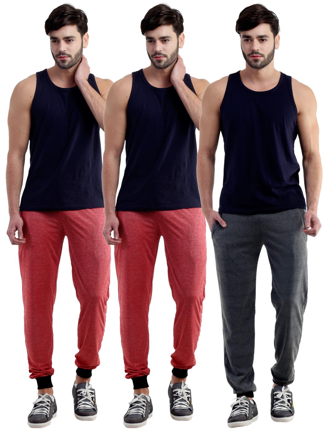 Dee Mannequin Awesome Track Pants For Men-NMXMILTPRDRDGR26
