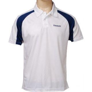 original branded reebok play dry premium collar polo
