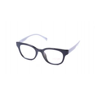 Super Traders St Black Frame And White Temple  Combination Spectacle Frames For Womens-Stfrm094