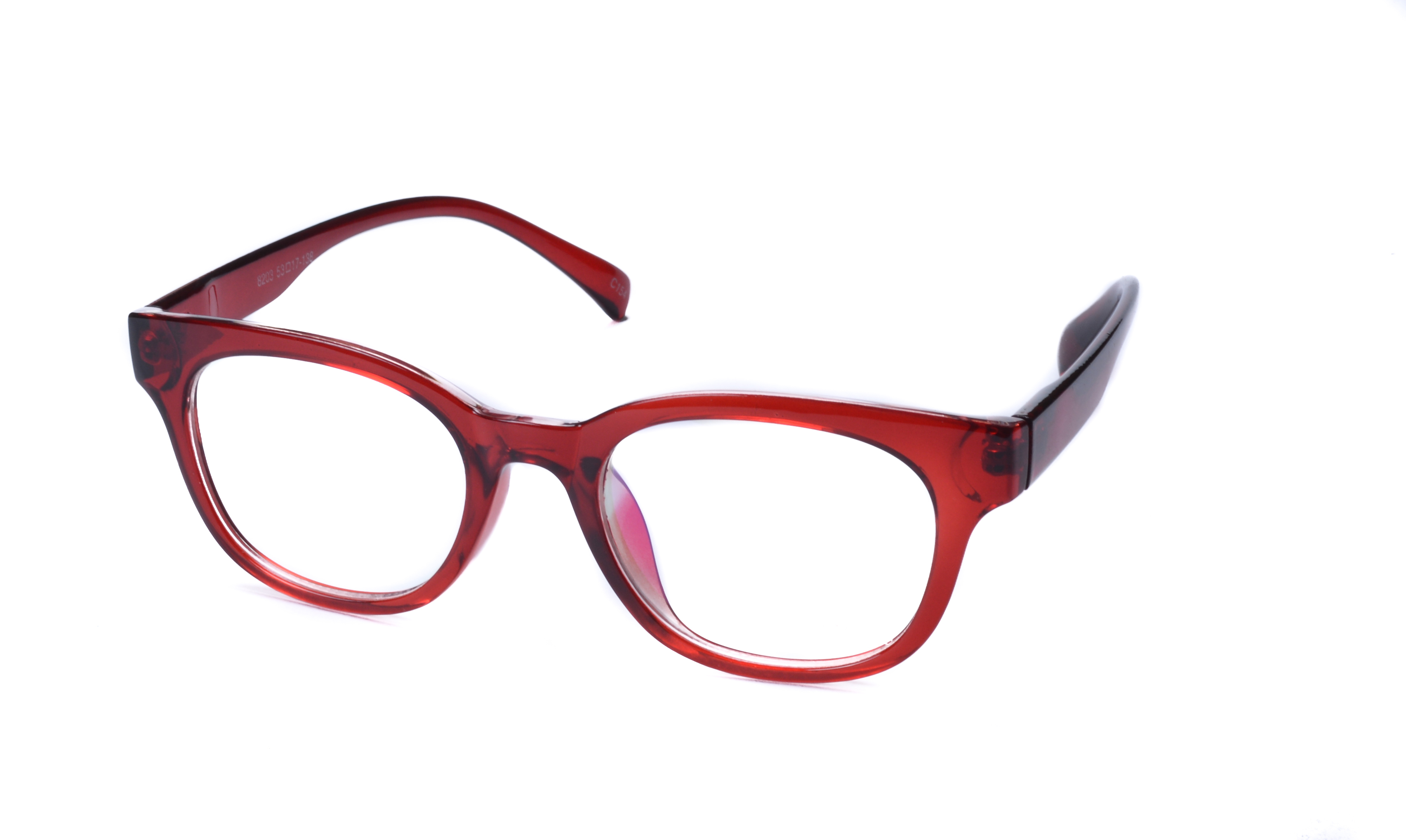 Super Traders St Red Frame And Red Temple  Combination Spectacle Frames For Womens-Stfrm087