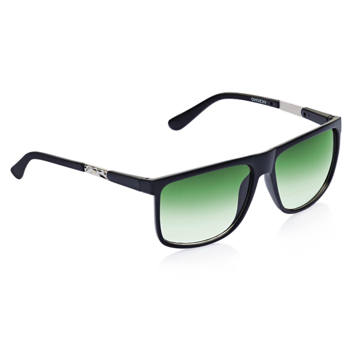 Vicbono Green Wayfarer UV Protection Sunglass For Men -VBSG-036