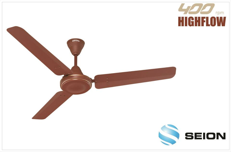 Seion High Flow 3 Blade (1200mm) Ceiling Fan
