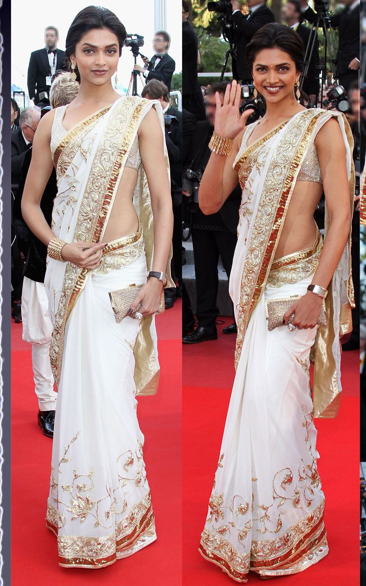 Bollywood Diva Deepika Padukone and Her Gorgeous Sarees!