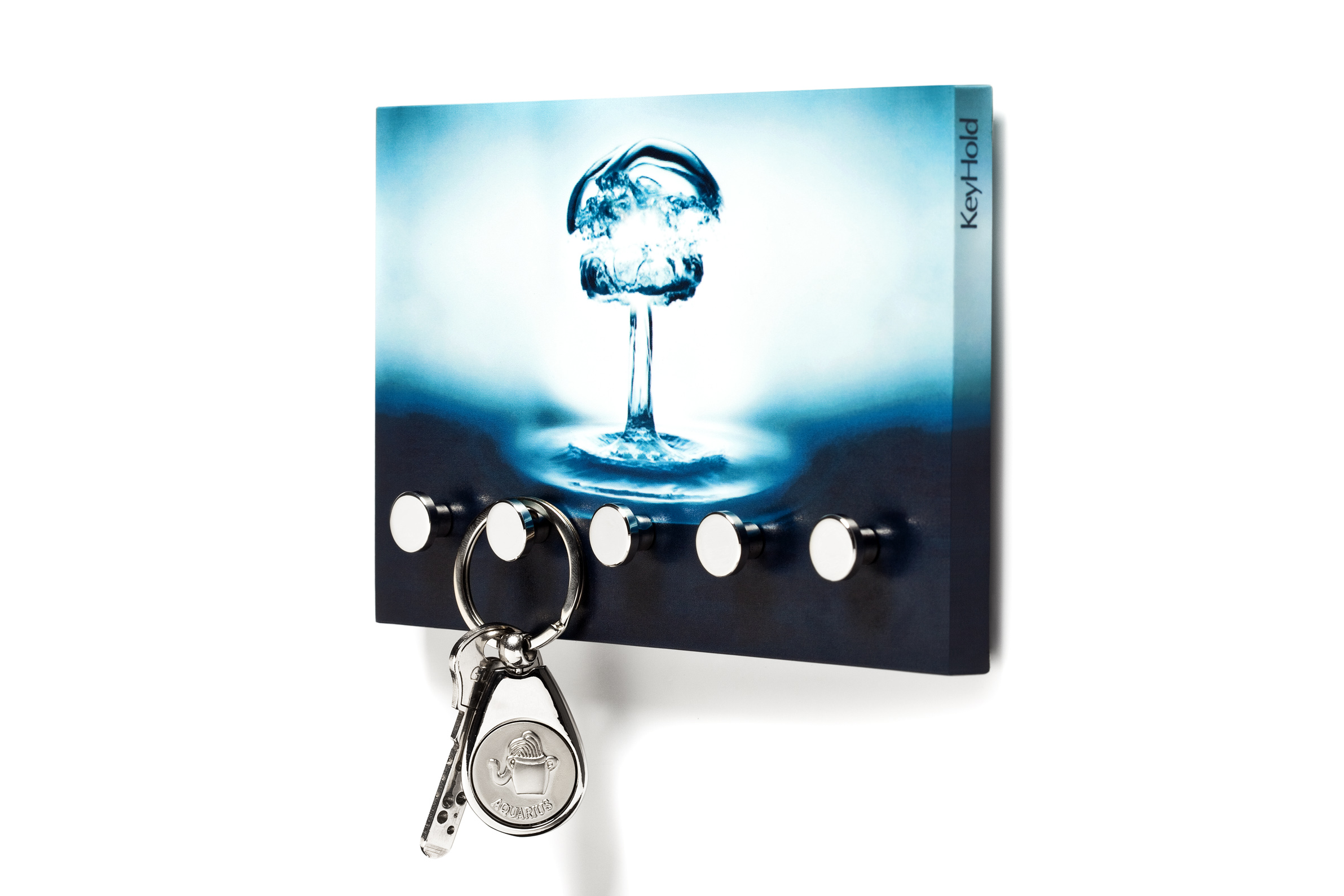 Regis Keyhold Wall Key Chain Holder Hanger Vivid Splash