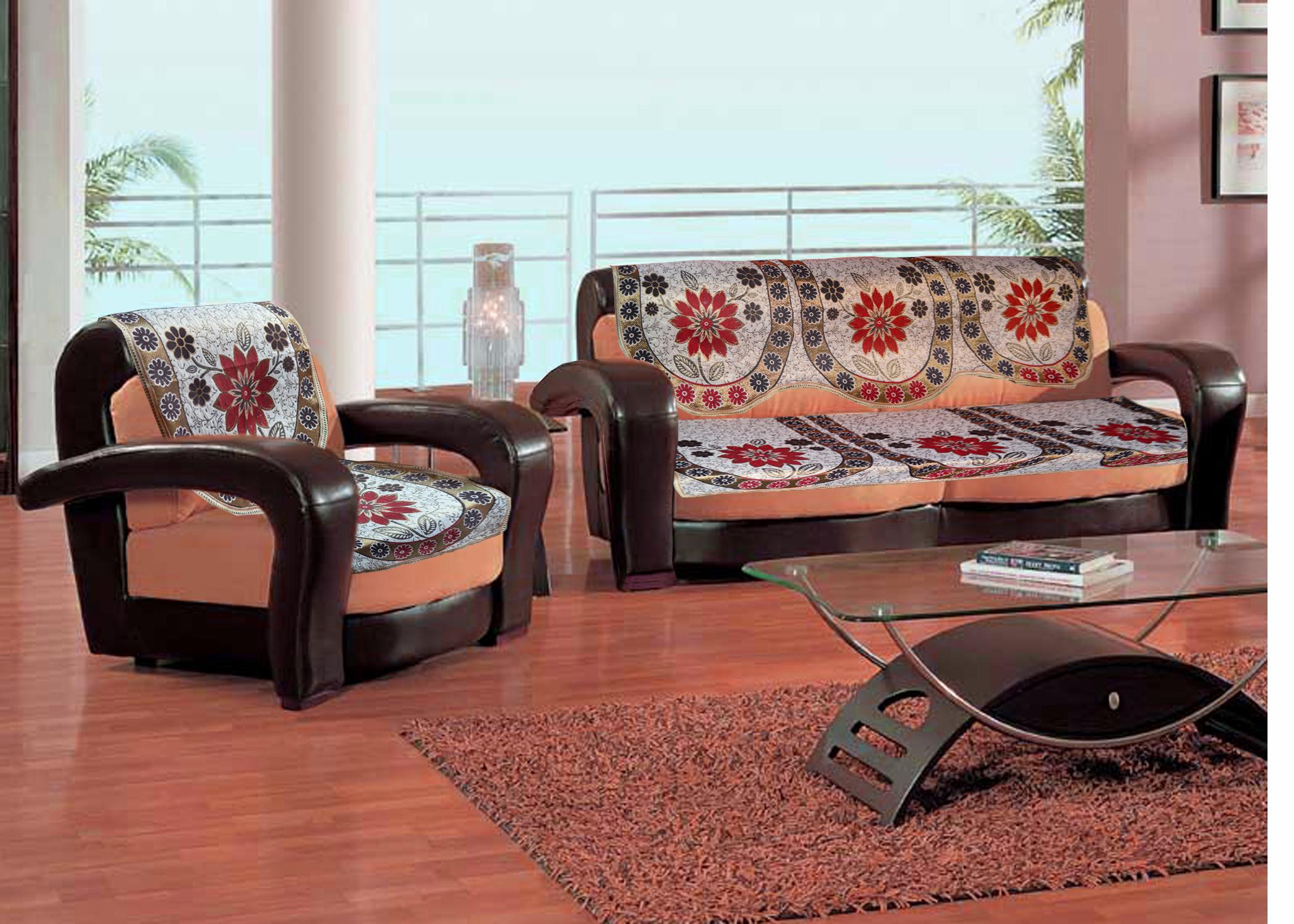 Set Of 10 Premium Sofa Slip Covers Sc 05 1