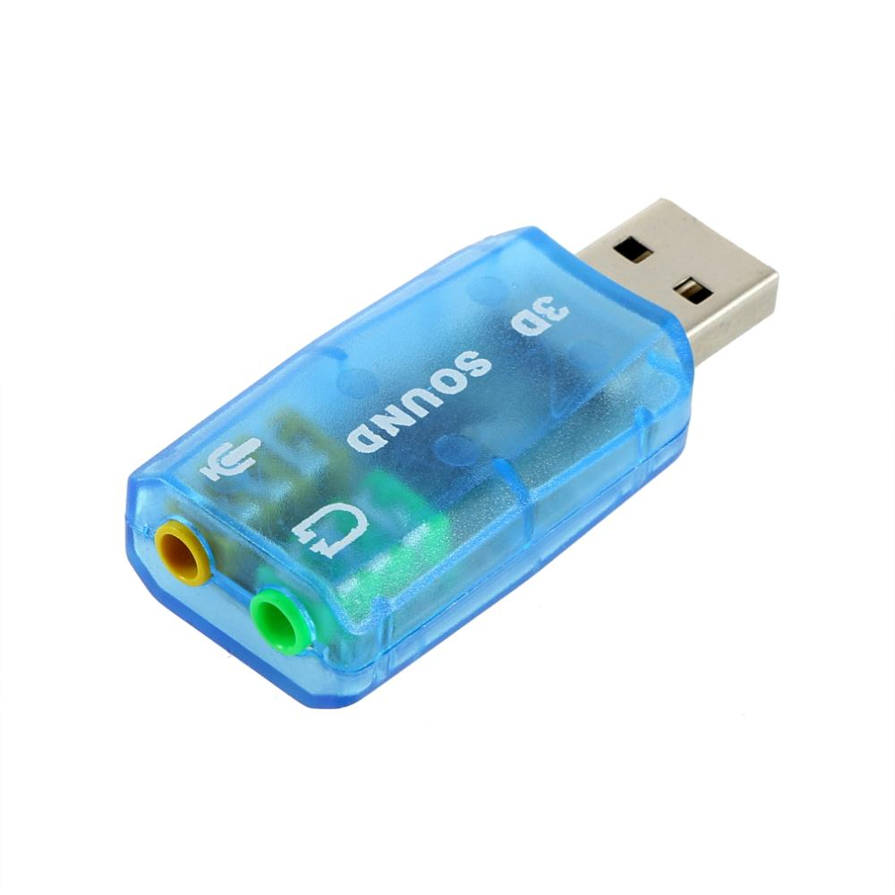 Universal 3D USB Virtual 5.1 Surround Mini USB 2.0