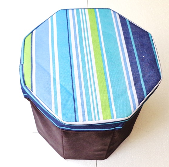 Folding Stool Cum Storage Seat Box For Picnic Camping