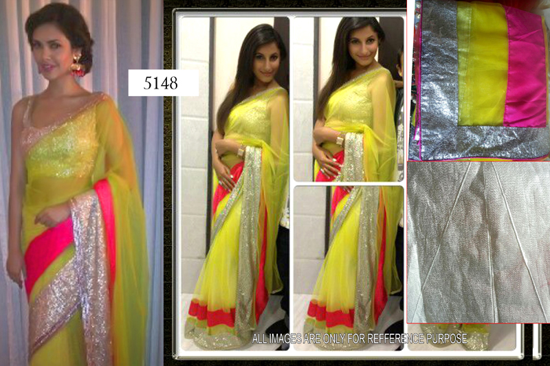 Latest Beautiful Indian Style   Georgette Sarees