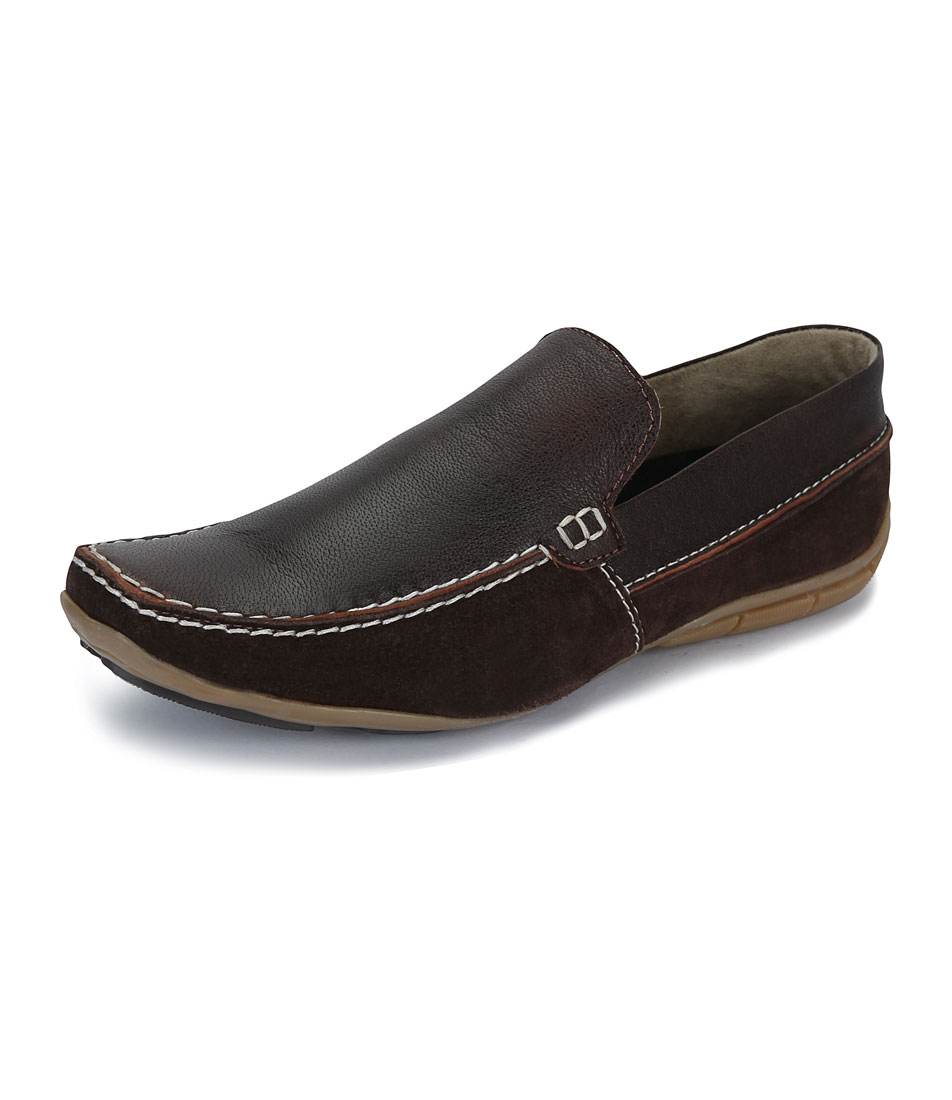 Italiano Men's Brown Stylish Loafers - Option 3