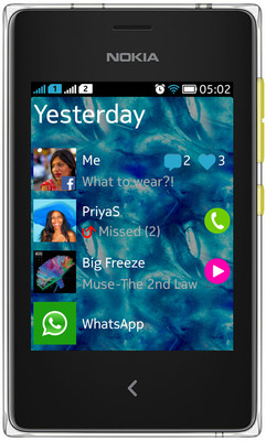 Nokia Asha 502 With 4GB SD Card...