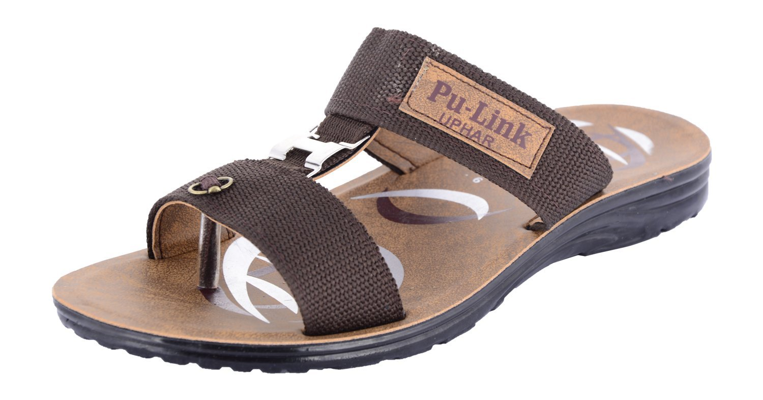 Uphar Mens Pu Sandals And Chappals Available At Shopclues