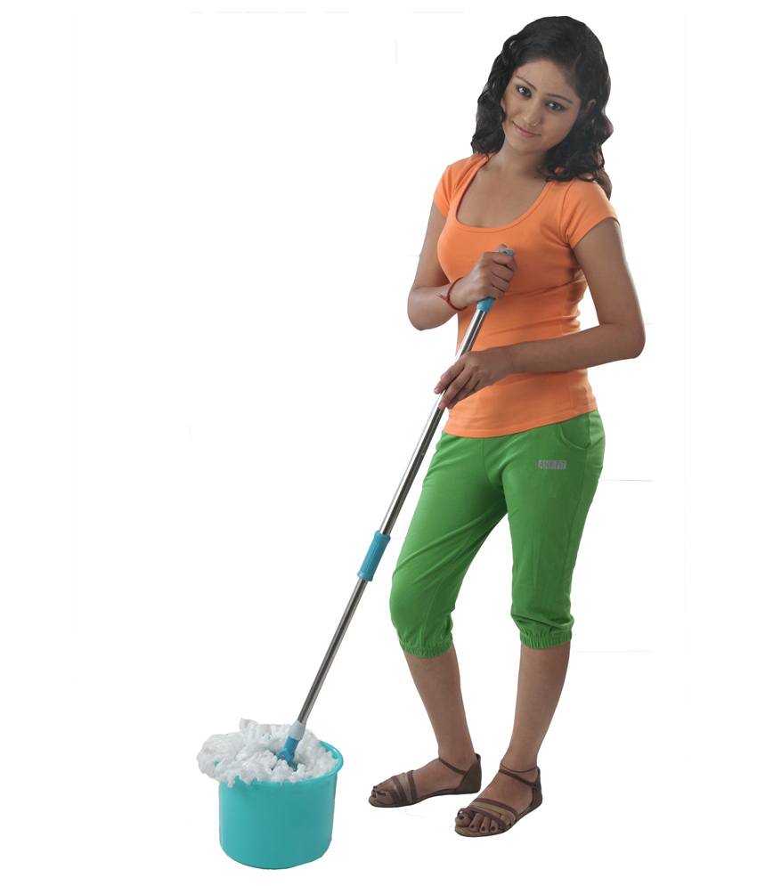 Buy Portable 360 Degree Automatic Magic Spin Mop With