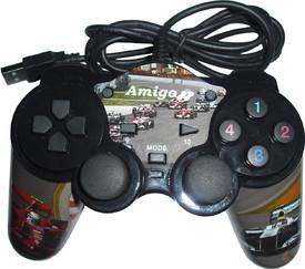 Amigo Dual Shock Pc Usb Game Pad Formula 1 Version  (sait 0004)