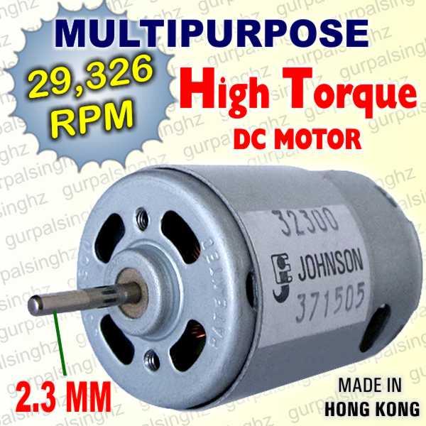 Mini high speed torque dc 3v 12v multi purpose motor pcb for Small high torque dc motor