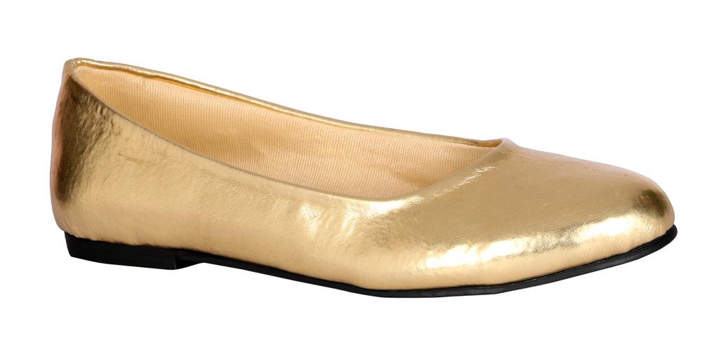 Lotusfeet Women Gold Comfort Bellies