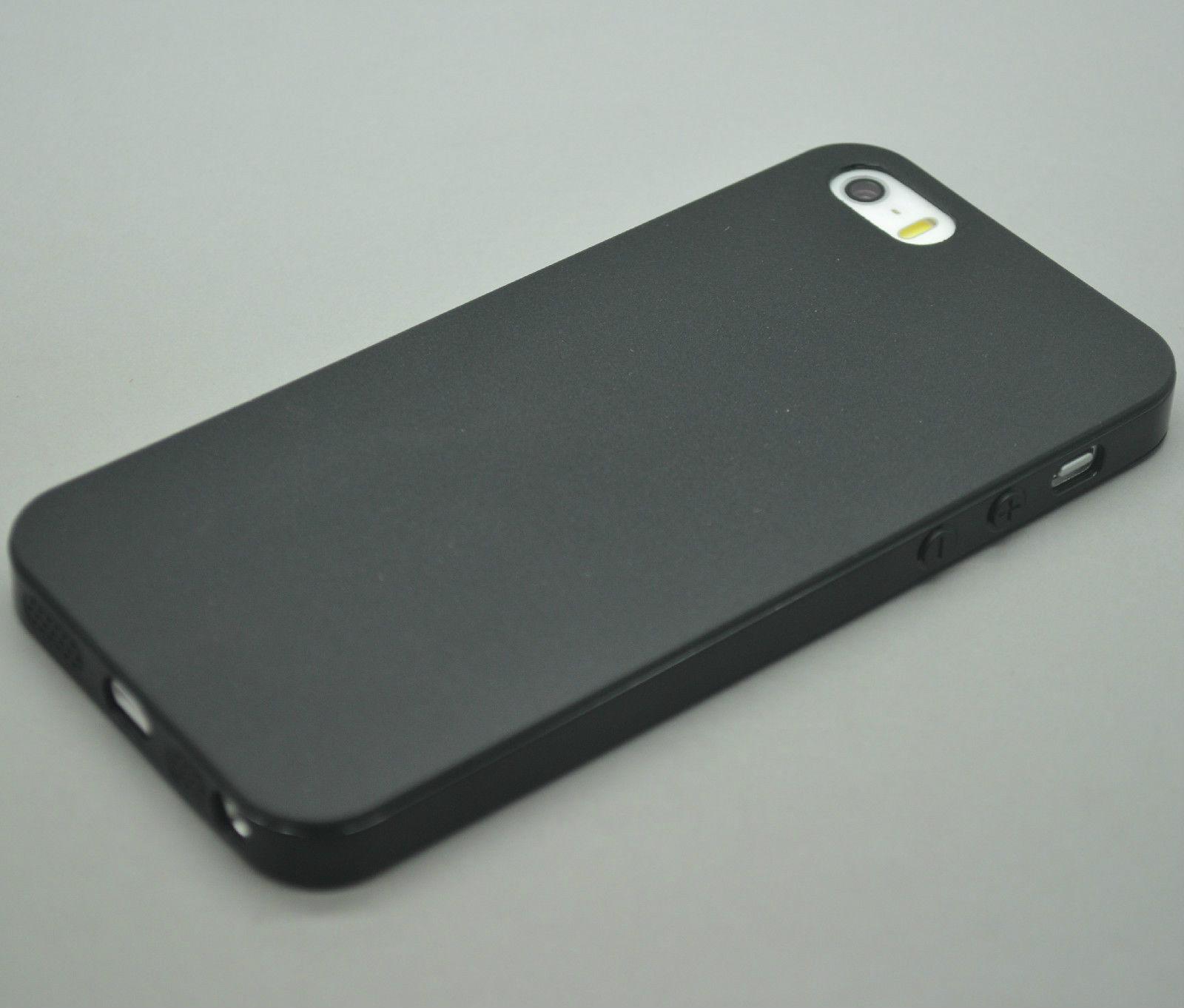 ULTRA SLIM RUBBER SOFT SILICONE GEL SKIN BUMPER CASE COVER ...Iphone 5s Rubber Bumper