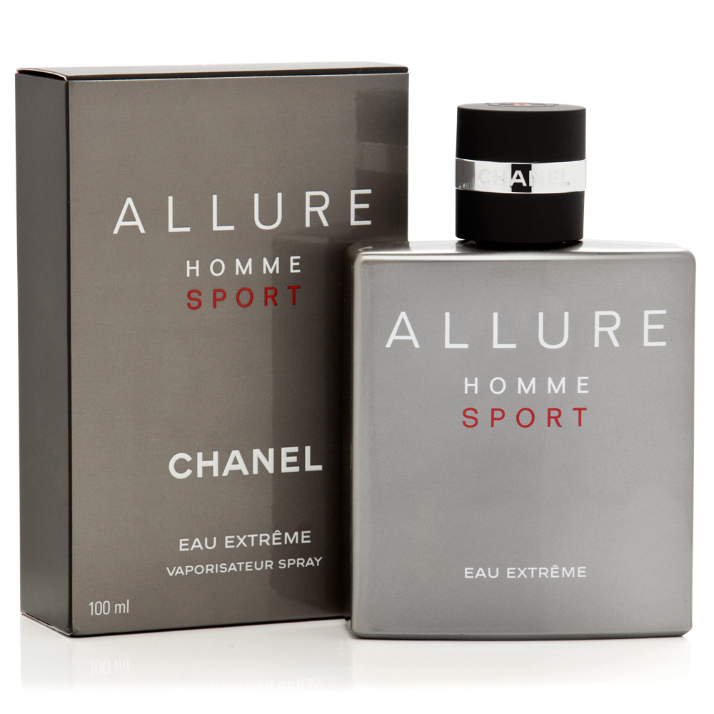 chanel allure homme sport eau extreme 100ml by chanel. Black Bedroom Furniture Sets. Home Design Ideas