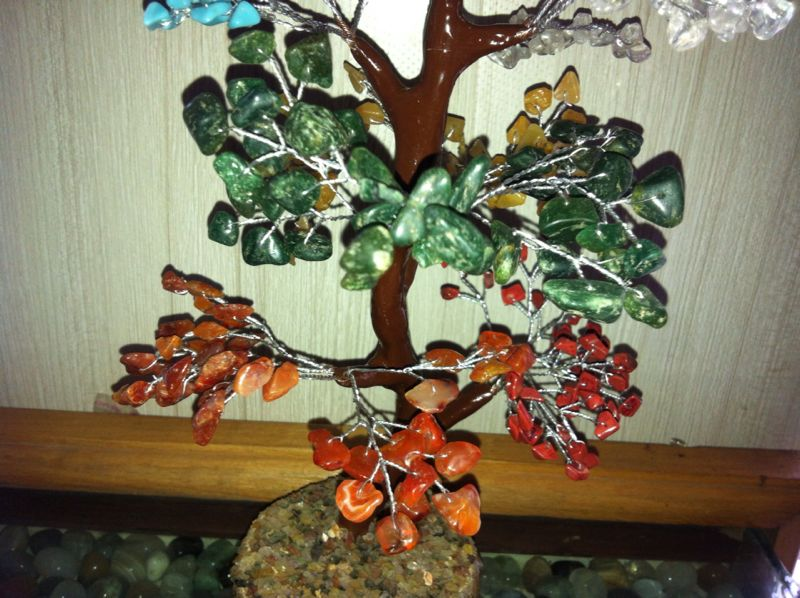 Gem Stone Tree / Gift Articles / Home & Office Decor Products / Hand