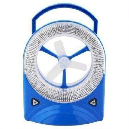 Eveready 1mm Rechargeable Table Fan with LED Lights Price in