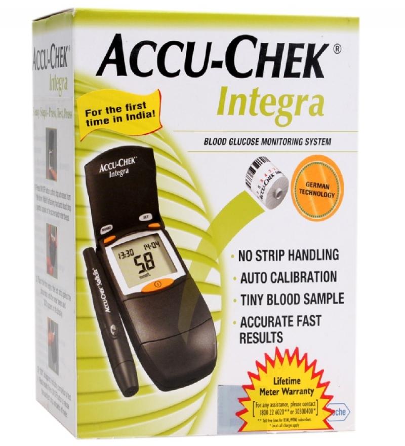 Accu-Chek Integra Blood Glucose Monitor System ( Free 17 Test Strips )