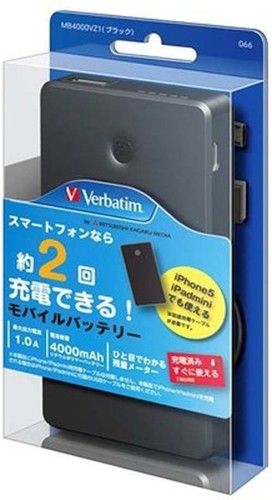 Verbatim MB4000VZ1 4000mAh Power Bank