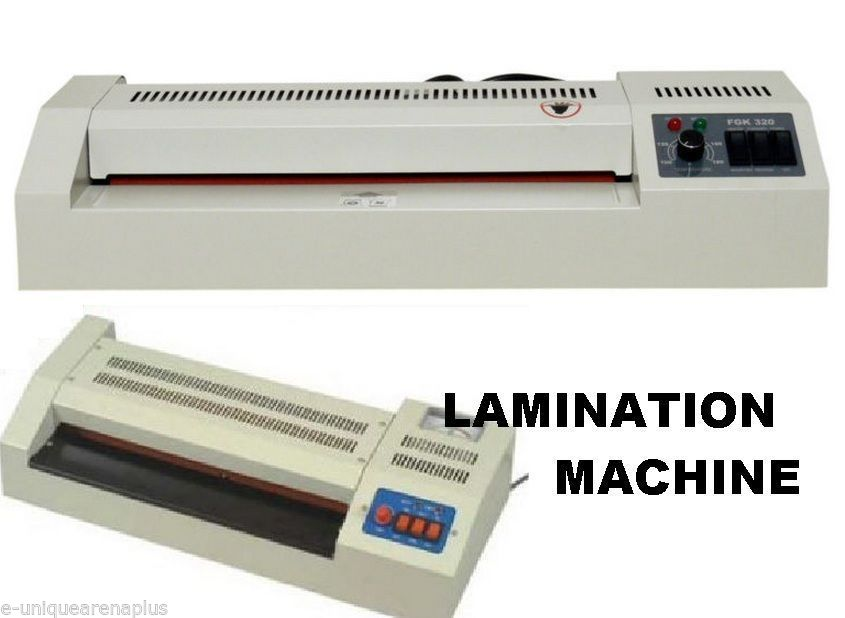 lamination machine for id cards