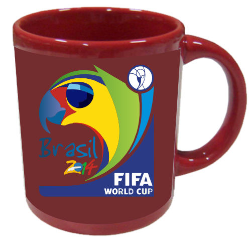 Coffee Mugs Amazing Brazil Maroon