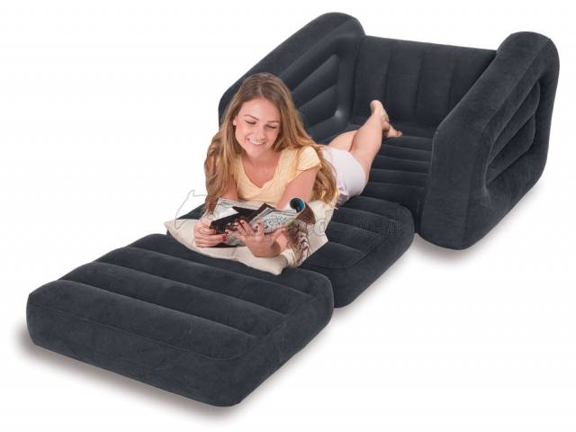 Intex Single Pullout Chair Bed Couch Seat Sofa Cum Bed