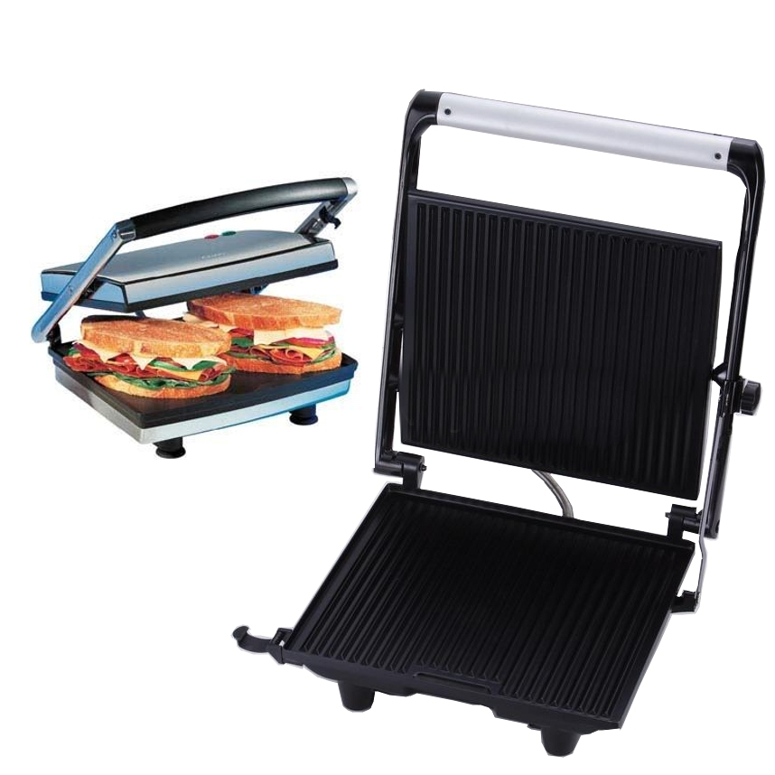 Electric Sandwich Makers : Heavy duty grill electric sandwich maker home and