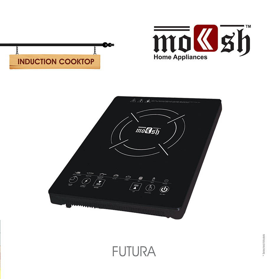 Moksh Futura Induction Cooktop