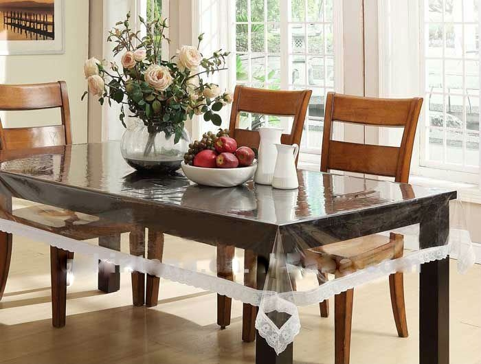 Expressions Transparent Dining Table Cover