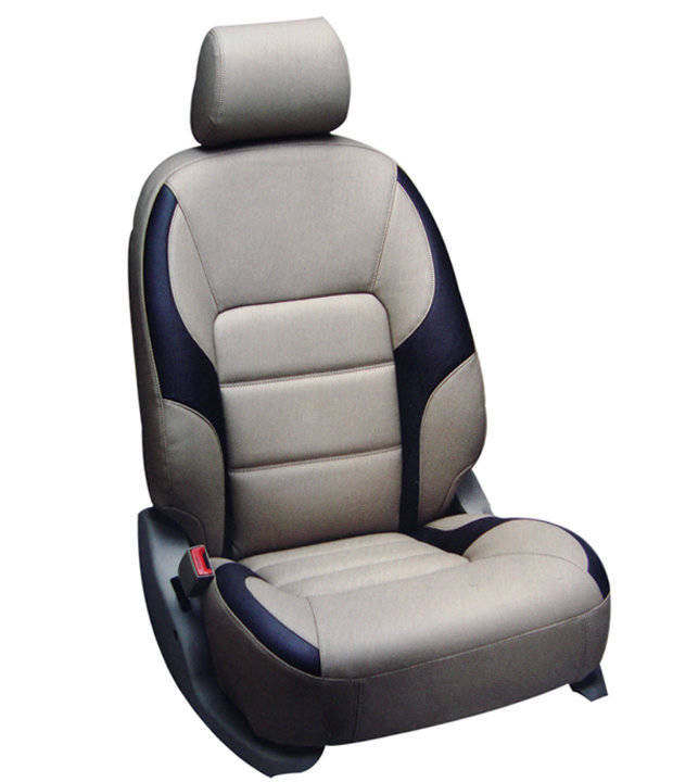 hi art beige black seat cover for maruti alto 800 lxi vxi zxi option 2 prices in india. Black Bedroom Furniture Sets. Home Design Ideas