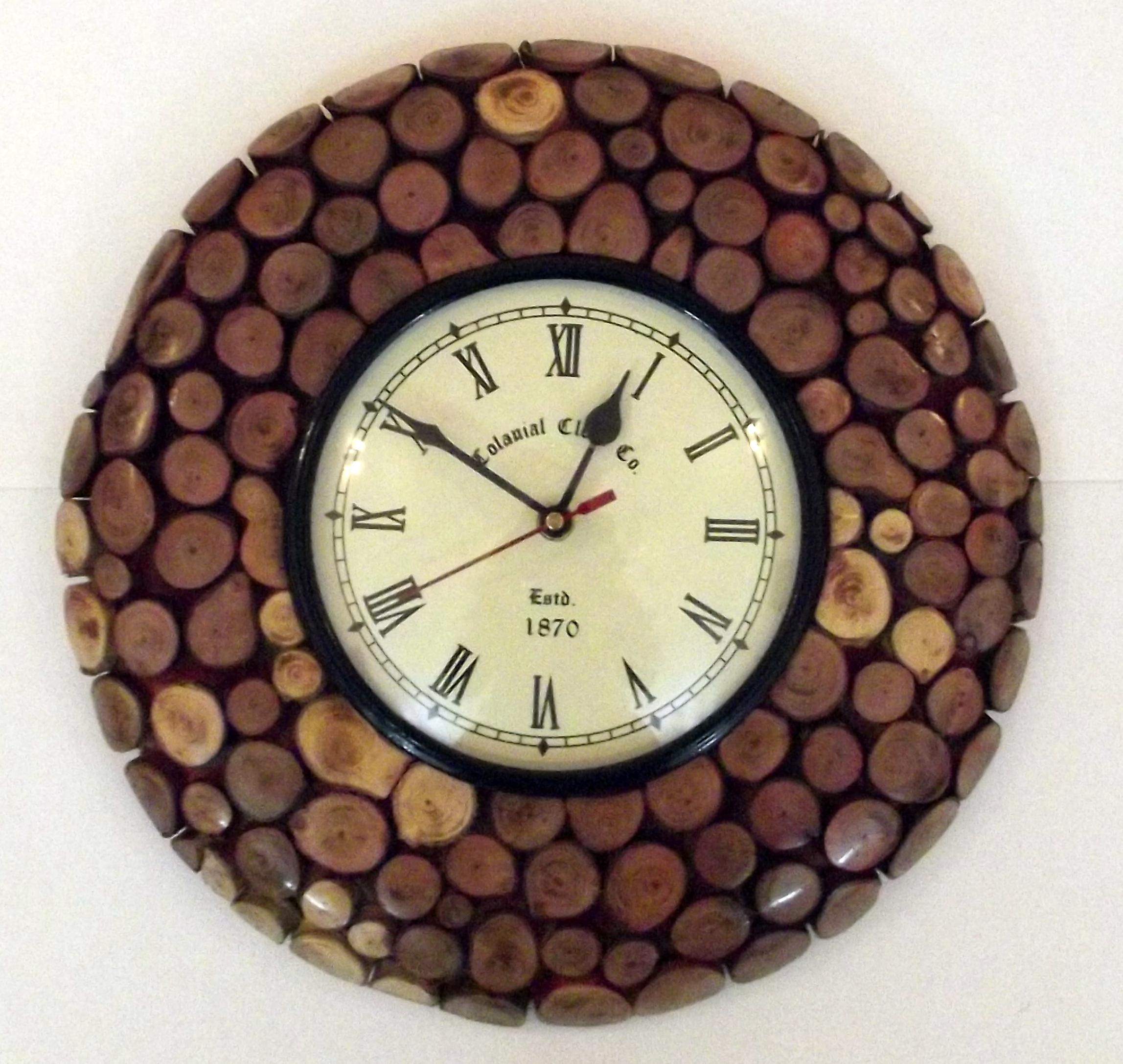 30+ Handmade Wall Clocks Designs | Wall Designs