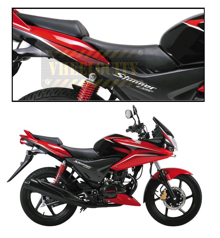 Buy Vheelocity High Quality Bike Seat Cover For Honda Cbf