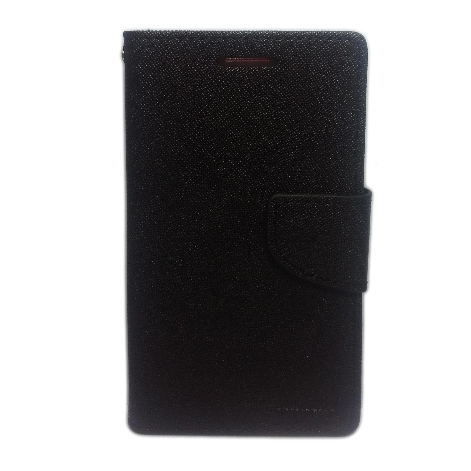 Book Cover Goospery Samsung I Black : Goospery cover case for samsung galaxy note black